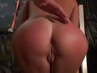 Dirty blonde MILF got her ass spanked and fucked BDSM