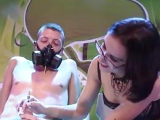 Bdsm Miss Lith tortures her slave for freaks in public