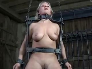 Sub slave bitch tortured in worst ways possible BDSM porn