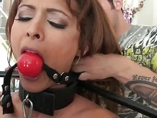 Busty milf gets humiliated and fucked really hard BDSM porn