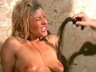 Garbage girls filthy humiliation and bizarre BDSM in creepy dungeon