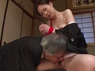 Seductive Japanese girl cries while getting fucked hard in bondage