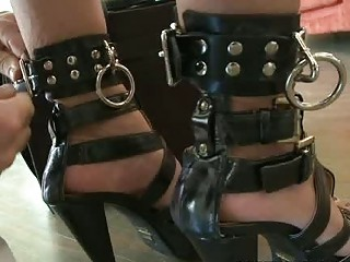 Blonde MILF gets bound and humiliated for some cash BDSM