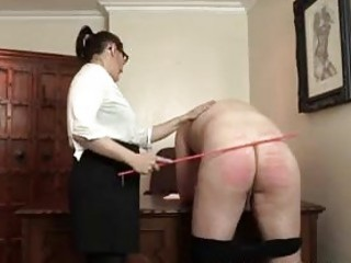 Perverted french teacher whips a masked freak BDSM fetish porn