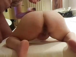 Fat ass chick endures punishment session with her BDSM master