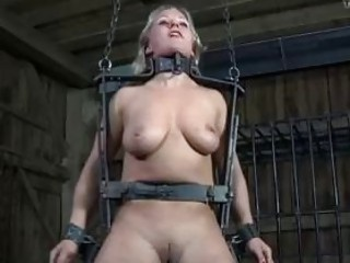 Sub slave bitch tortured in worst ways possible BDSM porn