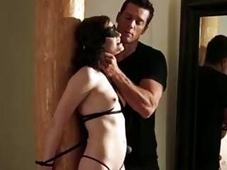 Maledom master fucks tied up bitch Jessica Re BDSM porn