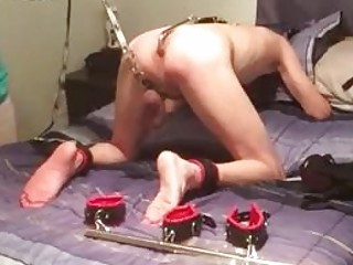 Anal lover cock tortured and toyed by master BDSM porn