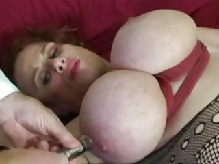 Her big juggs and pussy get a punishment BDSM porn