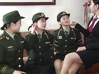 A few cute Asian girls in uniforms obey to BDSM