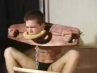 Submissive male slave craves for BDSM and bondage with someone