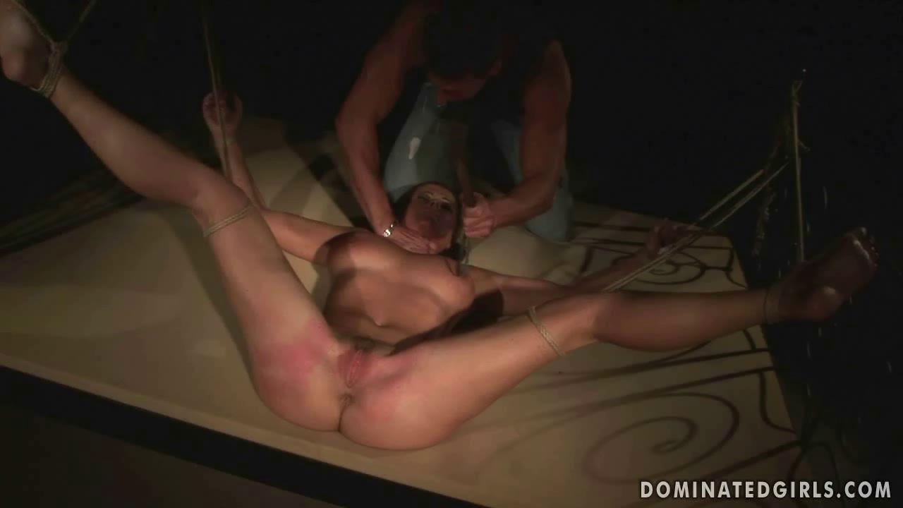 Girl Tied Up Face Fucked