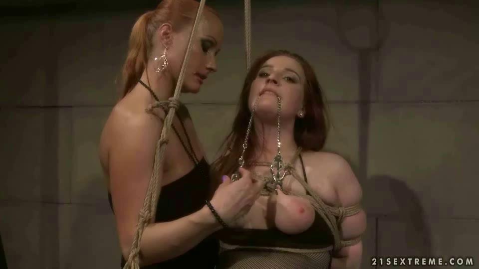 Slave Eats Mistress Ass