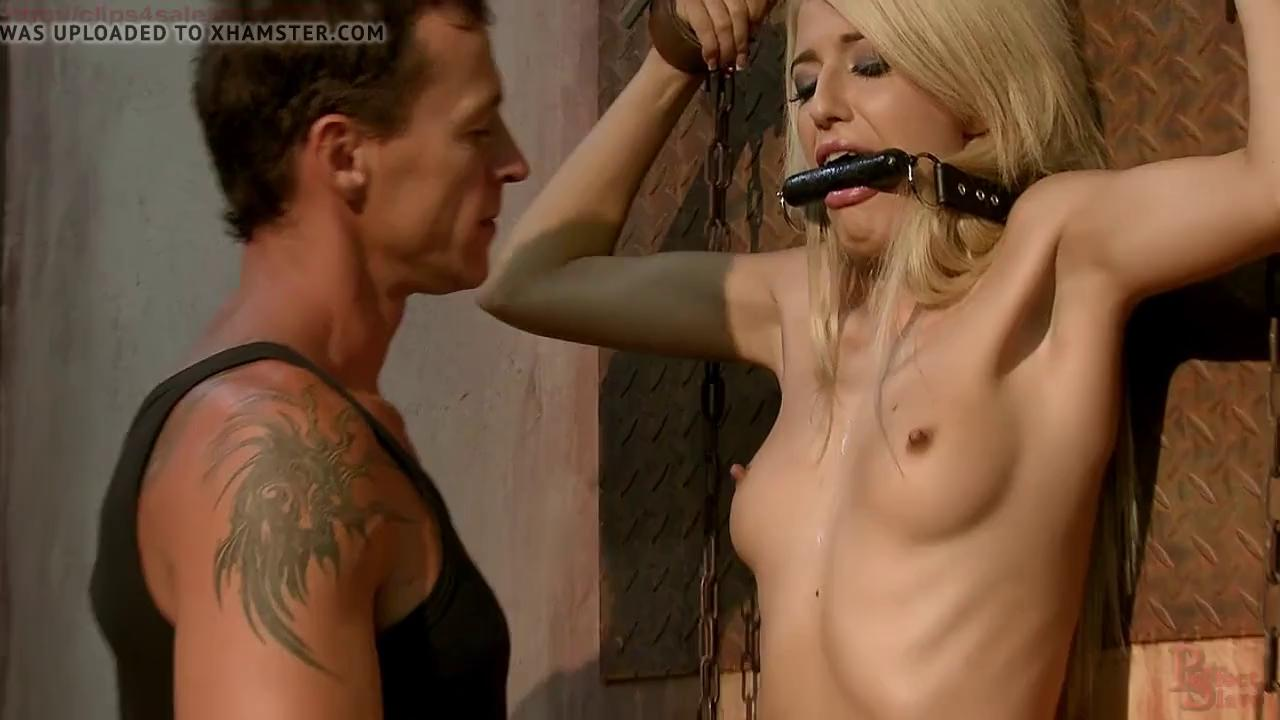 Bound big tits forced Babe With Big Titties Forced To Suck On Captors Dick Bdsm One